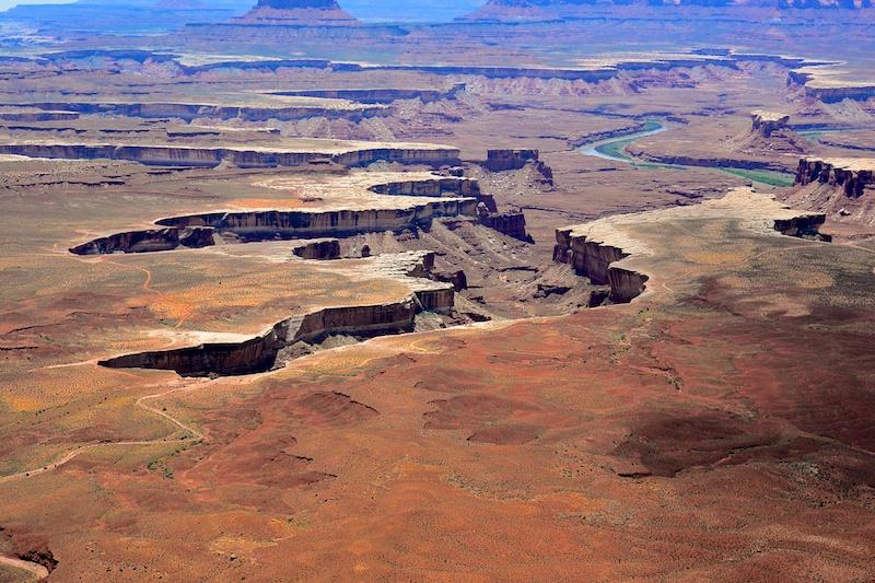 USA 2014 12 Fahrt Dover Creek - Canyonlands 447