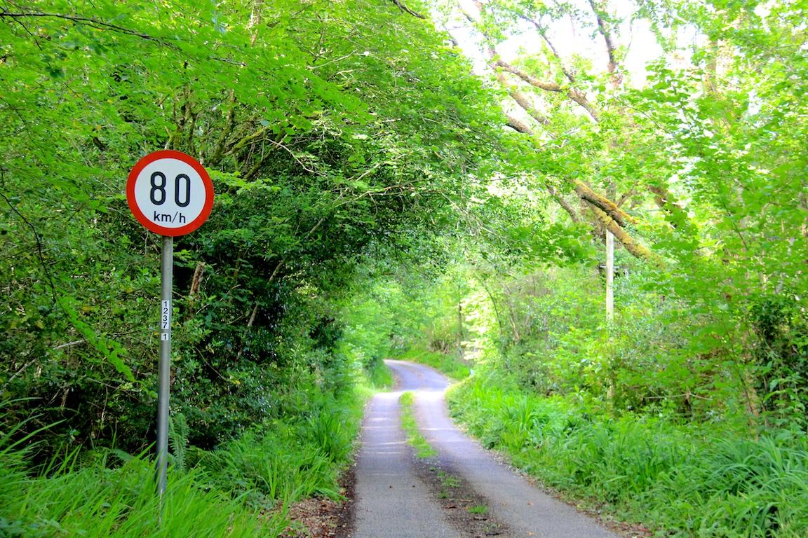Höchstgeschwindigkeit a lá Irland