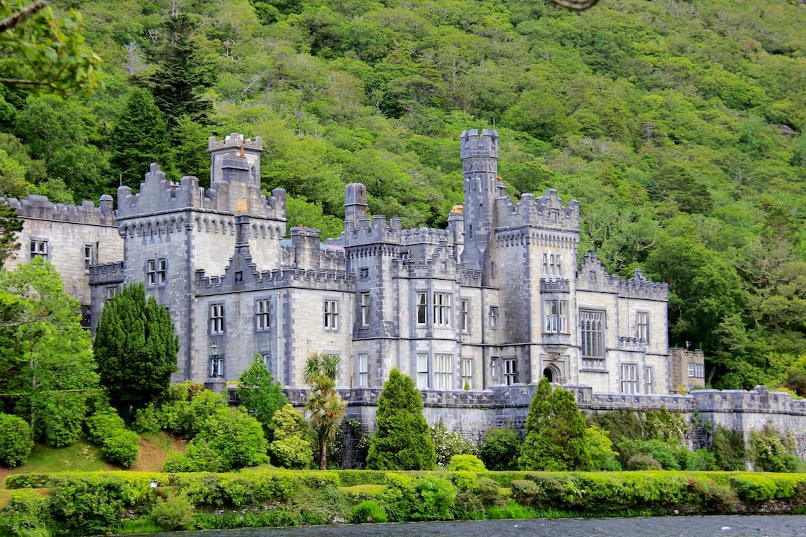 Kylemore Abbey - das Schloss