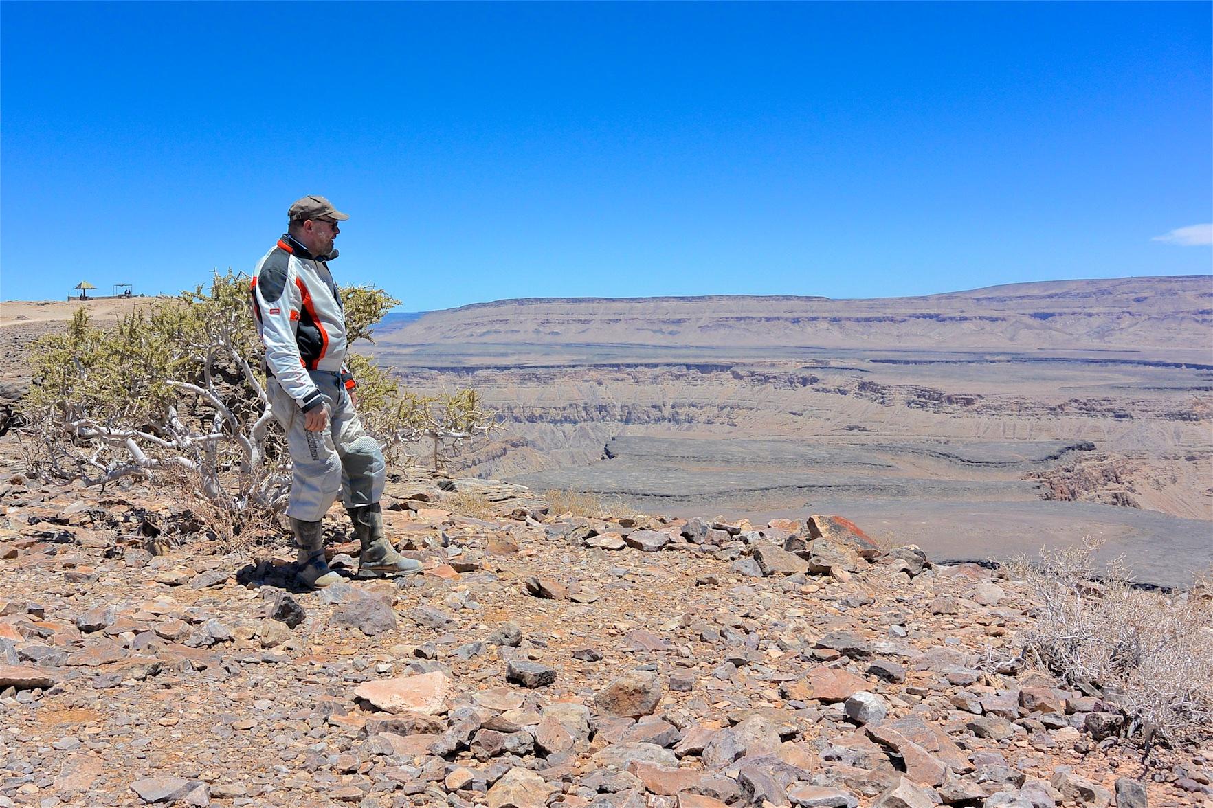 Motorradreise durch Namibia